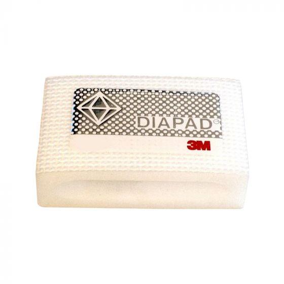 3M Diamond Hand Pad: Fine - White