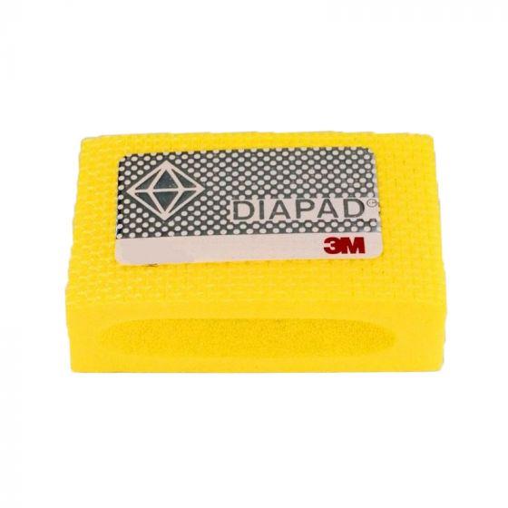 3M Diamond Hand Pad: Medium - Yellow
