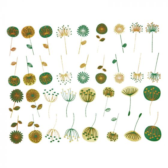 Meadow Flowers Decal