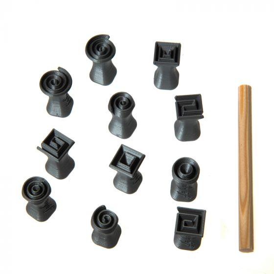 Relyef - Spiral Set 15x 15mm