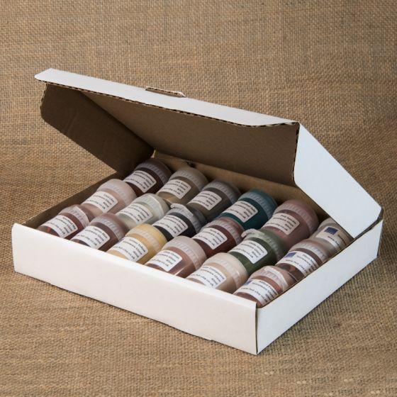 Vitraglaze Stoneware Glaze Sample Set