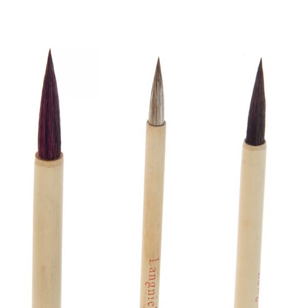 Set 3 - Long Brown Hair