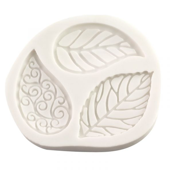 Silicone Mould - Filigree Leaves