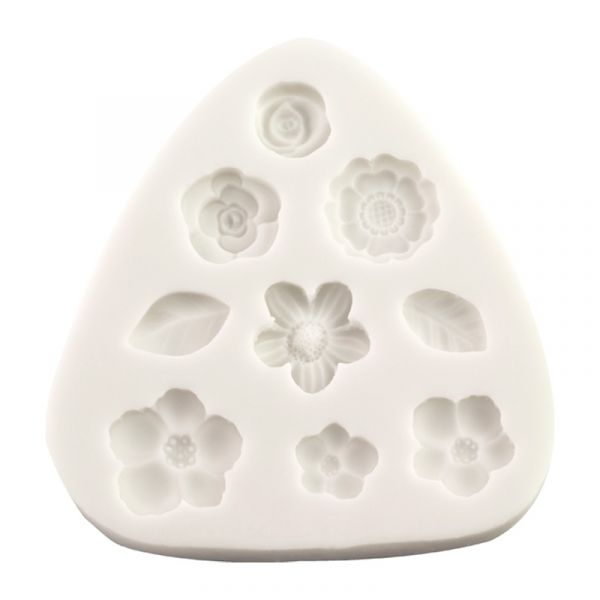 Silicone Mould - Flower Decorations