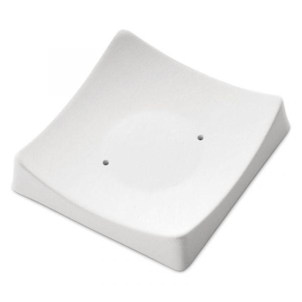 Square Slumper with Flat Base Mould 8298 (8.3cm x 8cm x 1cm)