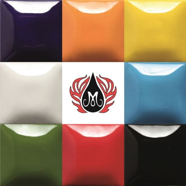Mayco Stroke & Coat Glaze Sample Set: Rainbow