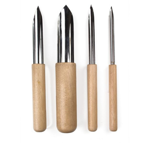 Semi Round Hole Cutter Set