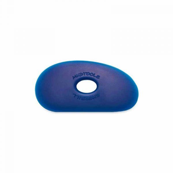 Mudtools Firm Blue Polymer Rib - Shape 1
