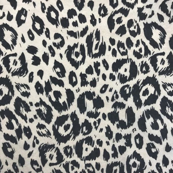 Cheetah Spots Underglaze Transfer Sheet - Black