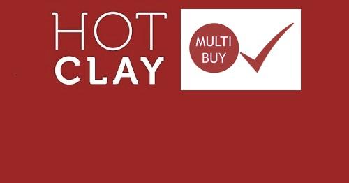 Hot Clay MultiBuy Discounts