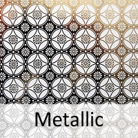 metallic pottery supplies