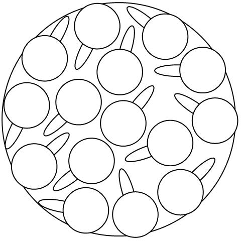 Rohde TE 75 Kiln shelf diagram